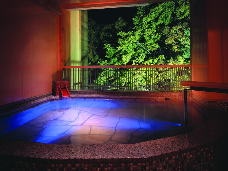 【女性用露天風呂】秩父の森を身近に湯浴み(※露天風呂は温泉ではありません※大浴場と繋がっておりません)