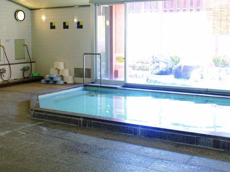 【大浴場】宿泊者のみ利用可能な内風呂