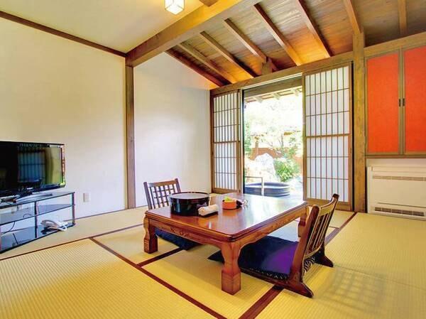 【別邸 嫁の間】 露天風呂付き客室/一例