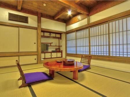 【別邸 当主の間】 陶器風呂付き客室/一例