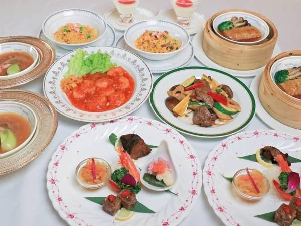 【夕食/例】本格中華コースを堪能