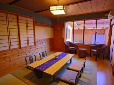 【露天風呂付10畳和室/例】客室毎に趣異なる露天風呂付き