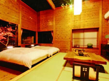 【露天風呂付和洋室/例】全室に趣異なる客室露天風呂付き