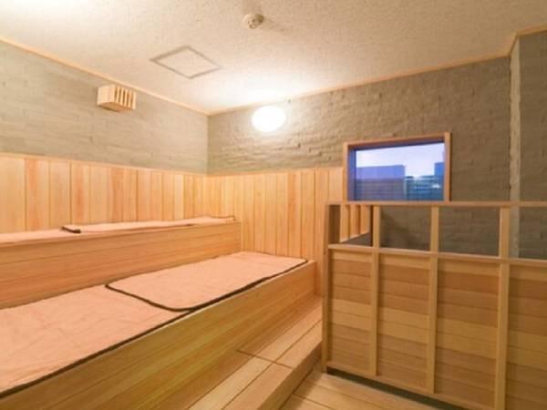 天然温泉大浴場 びざんの湯/サウナ