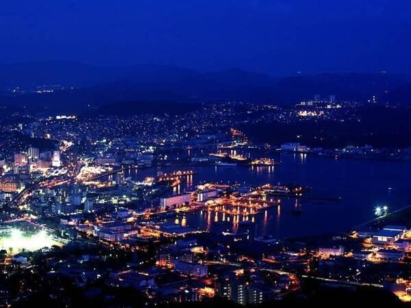 佐世保市街地の夜景