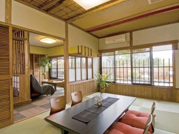 【特別室 梢の間】由布岳眺望露天・岩盤浴/一例