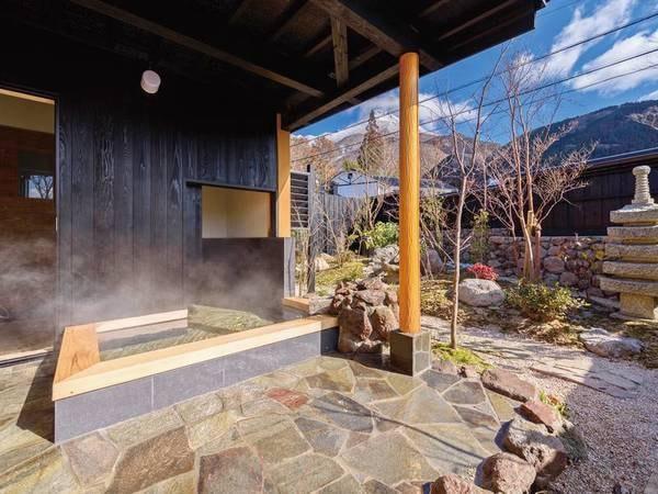 【特別室 桜の間】客室露天風呂/一例