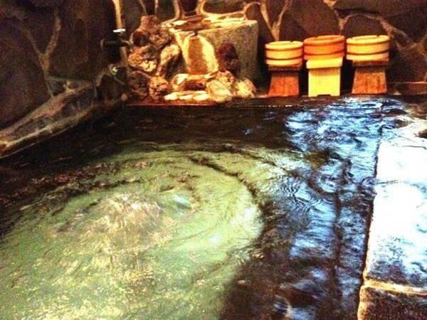 加水・加温・循環など一切使用をしていない湯河原温泉100%かけ流し