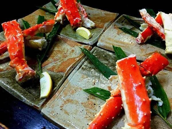 タラバ蟹(夕食一例)