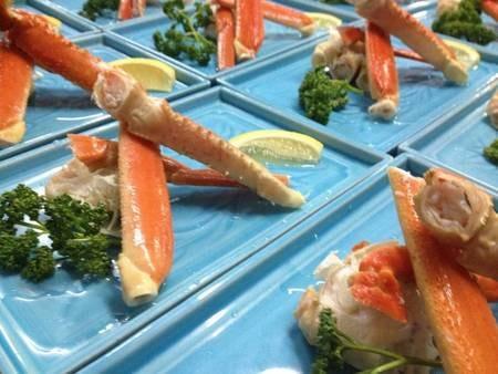 ずわい蟹(夕食一例)