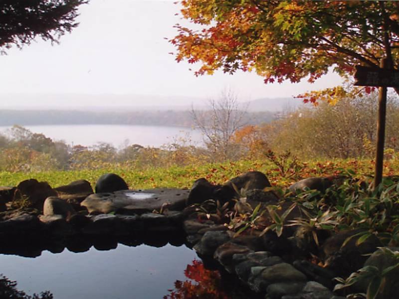 秋には紅葉風呂をお楽しみいただけます!
