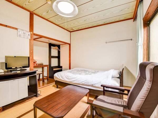 *【客室一例:シングル】一人旅やビジネス利用におススメ!おとなのための静寂と湯の癒しをどうぞ。