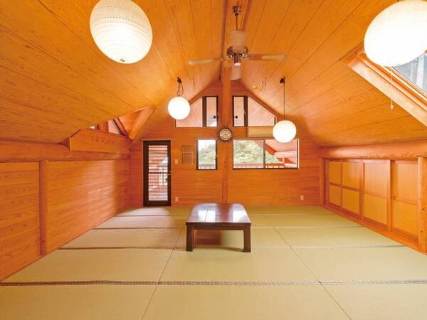 本館ログハウス和室18畳(一例)