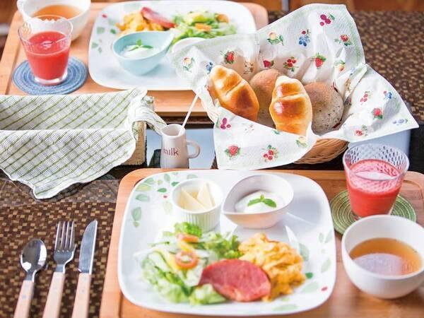 特別棟離れ専用朝食/一例