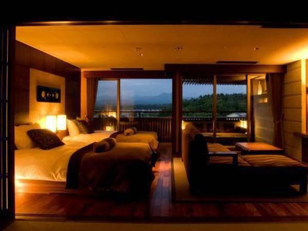 天祥の館「然 Zen」スイート客室◆分煙一例