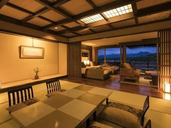 天祥の館「然 Zen」スイート客室◆分煙/一例
