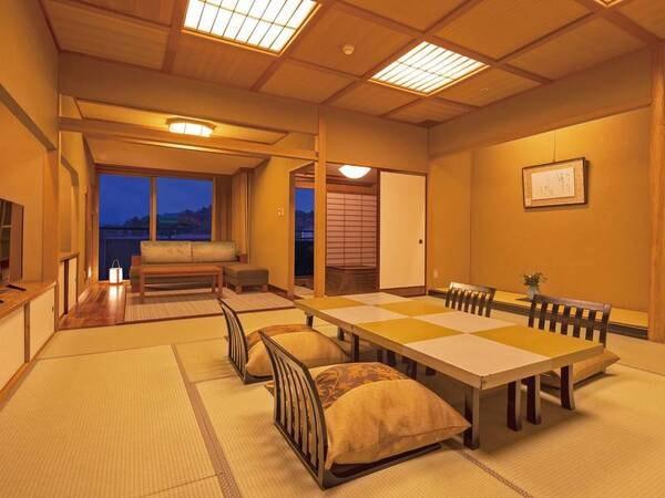 天祥の館 標準客室(和室2間)◆分煙/一例