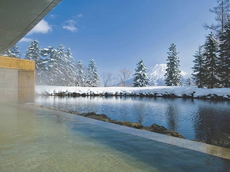 【露天風呂】冬