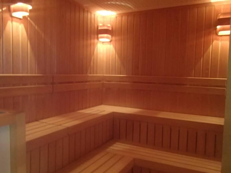 *2018年に新設されたサウナ室