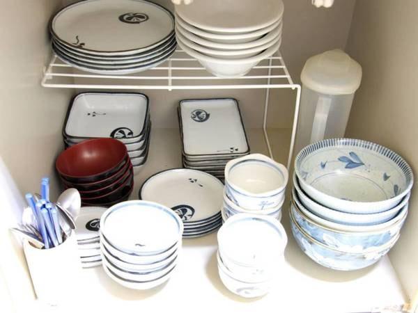 *食器類も揃えておりますので、持ち込みの必要はありません!