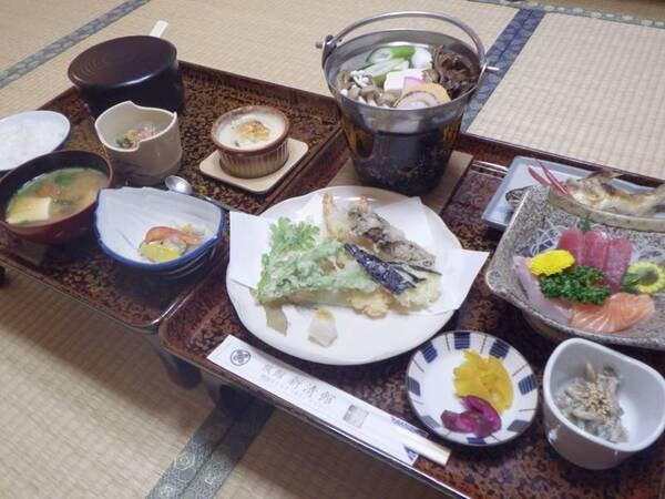 *【夕食例】旬の味覚をふんだんに使用しております。