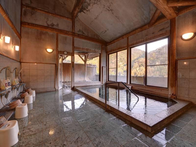 *【温泉棟】つるつる感たっぷりのお湯!日帰り湯としても人気です♪
