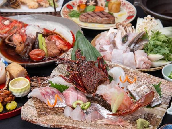 *【贅の極み:冬】紀州の特選食材を豪華に詰め込みました!(一例)