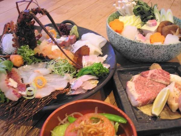【贅の極み】伊勢えびと熊野牛とクエ!和歌山の美食をつめこんだ豪華なコース