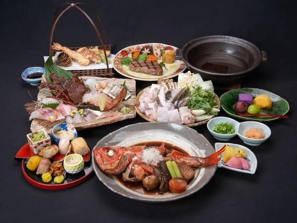 *【贅の極み】紀州の特選食材を豪華に詰め込みました!(一例)