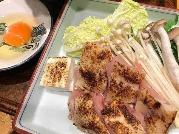 紀州赤どりすき焼き