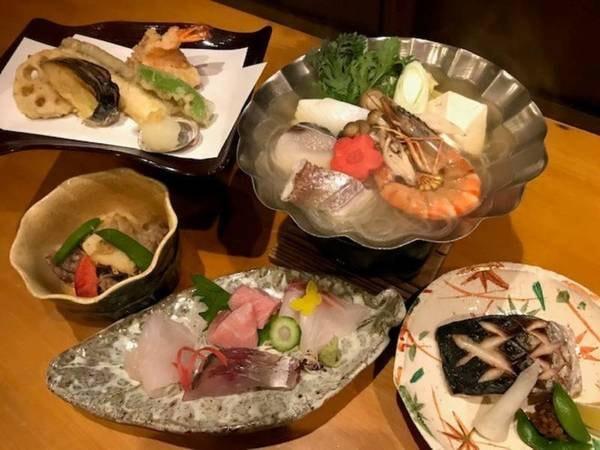 【夕食】新鮮なお刺身付!お手軽にお楽しみいただけます!