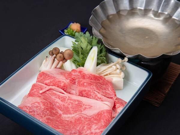 *【熊野牛しゃぶしゃぶ】きめ細やかで柔らか!甘味のある味わいが魅力!(一例)
