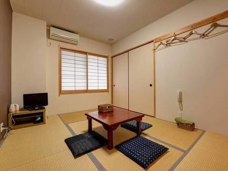 *【和室6畳】一人旅にもご利用いただける、落ち着いた雰囲気の6畳のお部屋。