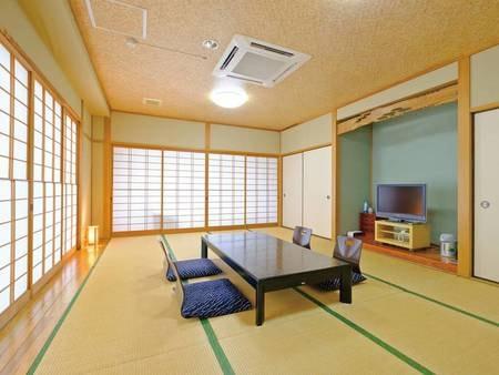 ◆由布岳が見える和室12畳(トイレ付)/一例