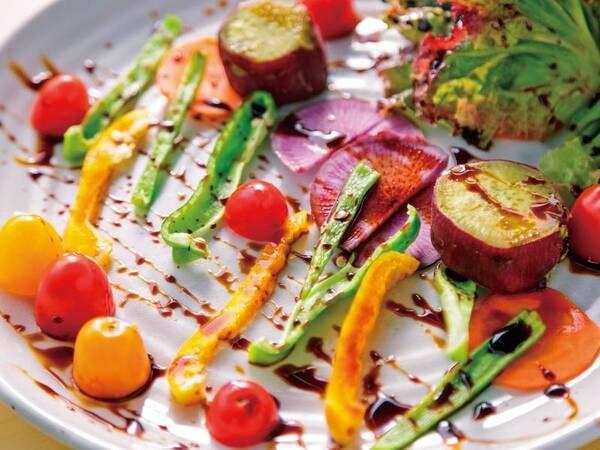 夕食サラダグリル/一例