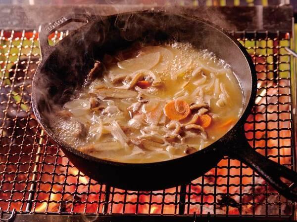 夕食猪鍋/一例