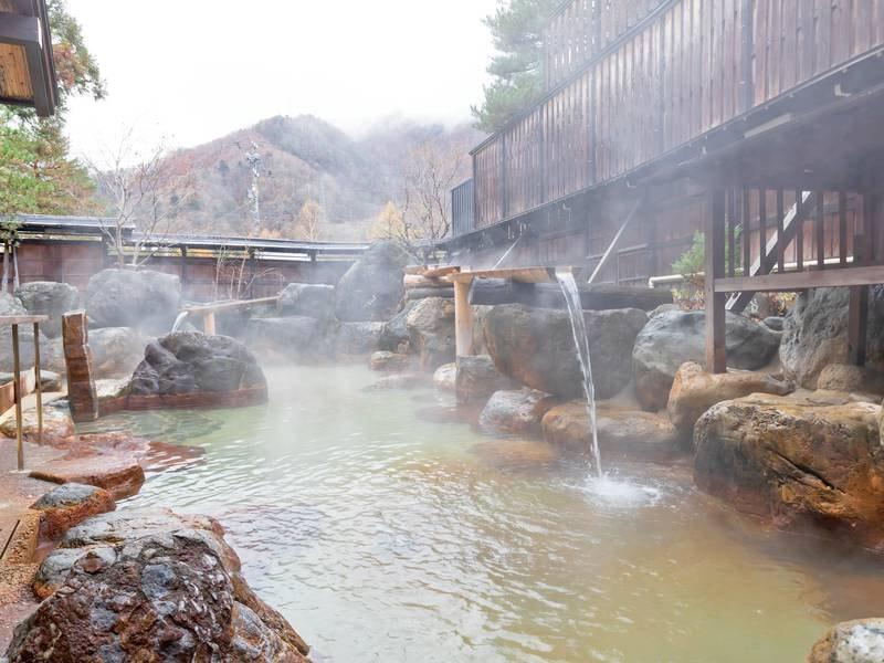 【杣人の湯】露天風呂