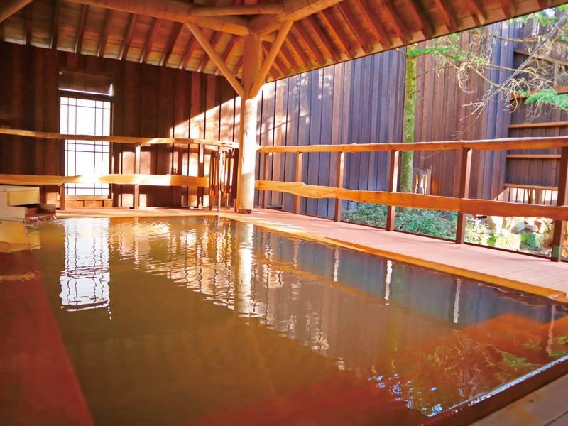 【木響の湯】半露天風呂