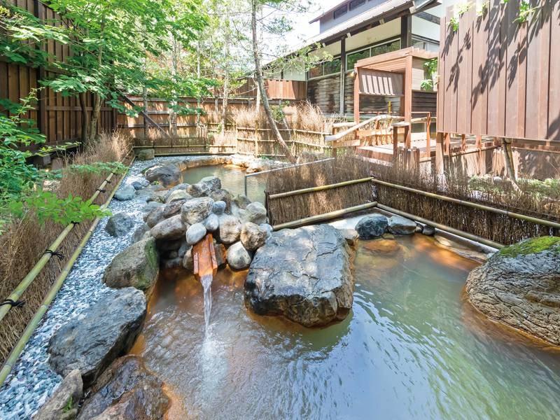 【木響の湯】露天風呂