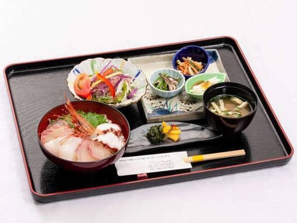海鮮丼セット/一例