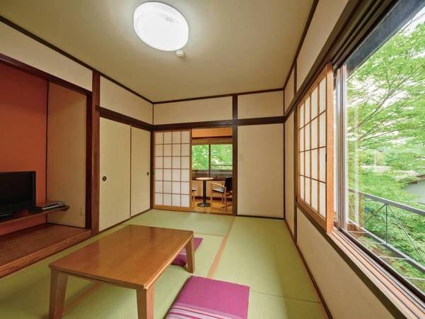 由布岳の見える和室6畳・トイレ付【禁煙】/一例