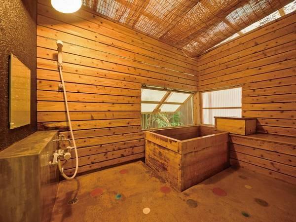 本館 温室風呂付和室6畳「櫻」客室風呂/一例