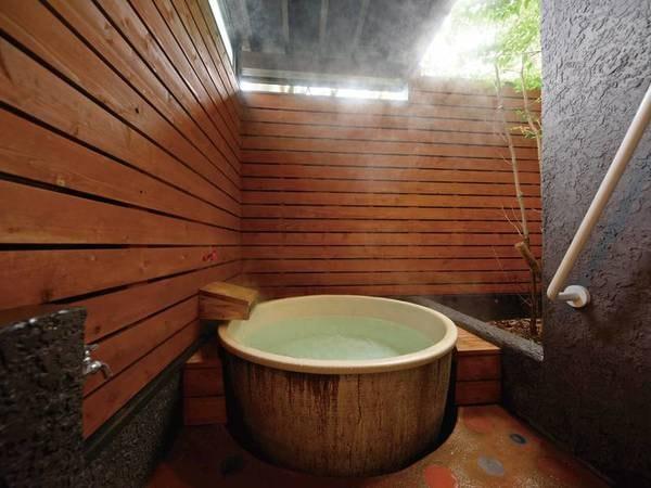 半露天風呂付和洋室「琥珀」客室風呂/一例