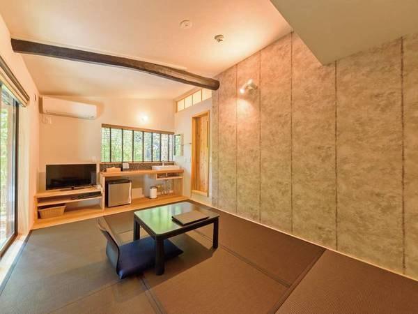 半露天風呂付和室6畳「墨」【禁煙】/一例