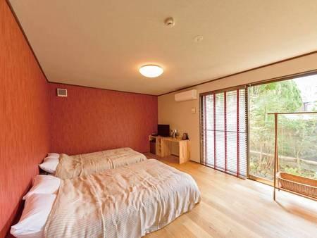 別館1階:内風呂付和洋室「紅」【禁煙】/一例