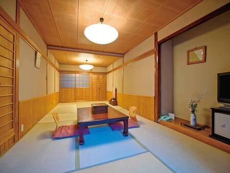 【母屋】11畳の広々和室/一例
