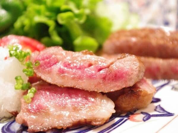 「黒毛和牛」のステーキ/一例