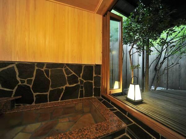 【開放感あふれる内湯付き和室10畳】客室風呂/一例