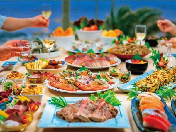 【夕食/例】約50種和洋中バイキング