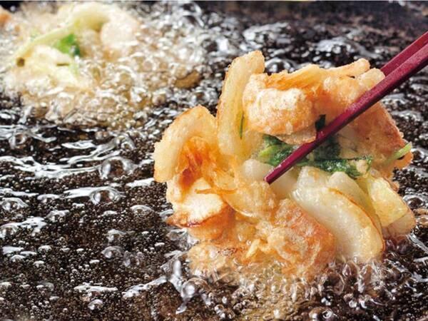 【夕食/例】季節の天ぷら